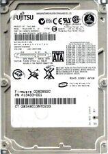 Fujitsu MHV2100BH 100GB P/N: CA06672-B25500C1 DATE: 2006-07