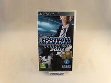 FOOTBALL MANAGER HANDHELD 2011 SONY PSP PLAYSTATION PAL ITA ITALIANO ORIGINALE