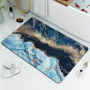 Anti-slip Absorb Water Bath Mat Bathroom Floor Mat Decoration Kids Geometric Mat