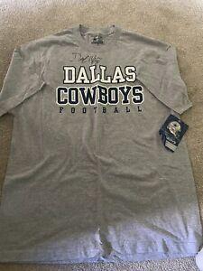 Mens Large Dallas Cowboy Demarcus Ware #94 Autographed NFL Shirt