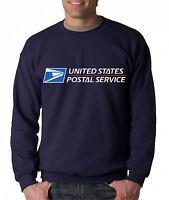 USPS POSTAL NAVY 3C CREW NECK Sweatshirt US Logo on Chest United States Service