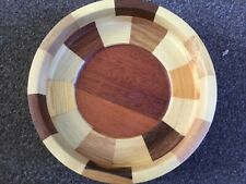 "Wooden Bowl 8.5"" x 2"" Excellent Condition"