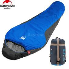 Mummy Sleeping Bag 5F/-15C Camping Hiking With Carrying Case Brand New A4N6