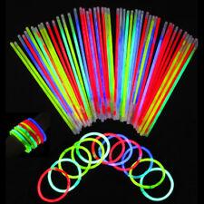 Bracciali Fluorescenti Luminosi Starlight Collane Fluo Party Stick Decora 912
