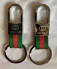 Set Of 2 Gucci Handbag Tag Fob Charm Key Chain Keychains NEW ~Free Shipping!!