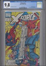 X-Force #4   CGC 9.8 1991 Marvel Liefeld Comic: NEW CGC FRAME