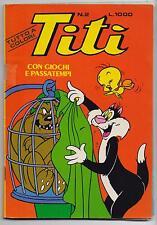 TITI' N.2 editrice Cenisio warner bros looney tunes italian comics silvestro
