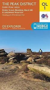 OS Explorer Map OL1 The Peak District Dark Peak Area OS Explorer, ,