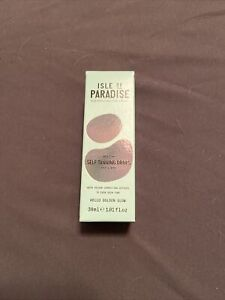 ISLE OF PARADISE Medium Self Tanning Drops for Face and Body- 1.01 Fl. OZ. - NIB