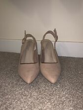 New Look Size 4 Comfort Fit Nude Court Shoes