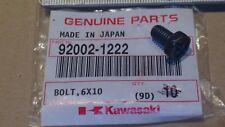 KX 65 80 85 100 125 250 NUEVO ORIGINAL KAWASAKI culata 6x10 Perno 92002-1222