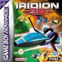 Nintendo GameBoy Advance Spiel - Iridion 3D Modul