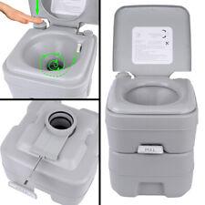 Portable Toilet 5 Gallon 20L Flush porta-potty Outdoor Travel Camping WC Caravan
