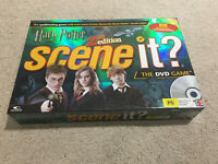 Harry Potter Scene It? The DVD Board Game 2nd Edition Mattel Complete 2007