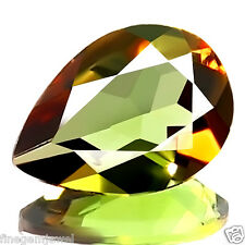 0.56ct FLAWLESS NATURAL BEST 5A+ BI-COLOR ANDALUSITE STUNNING BRAZILIAN GEM-IF!