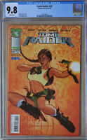 TOMB RAIDER #42 (Jun 2004 | IMAGE) CGC 9.8 (NM/MT) White Pages Adam Hughes Cover