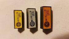 Gold Bronze Silver Dark Tower board game spare part Set of keys