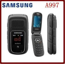 """Samsung A997 Rugby III 2.4"""" 3G HSDPA 850 / 1900 / 2100 Flip Cellphone For AT&T"""