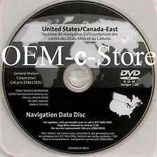 2005 2006 2007 2008 2009 2010 2011 Cadillac STS STS-V Navigation DVD EAST Map7.0