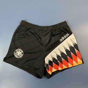 GERMANY VINTAGE FOOTBALL SHORTS 1994/1996 SOCCER JERSEY ADIDAS SIZE M