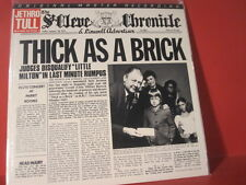 """MFSL 1-187 JETHRO TULL """" THICK AS A BRICK """"(JAPANPRESSING-SERIES/LIMITED/SEALED)"""