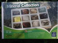 Geosafari MINERALS COLLECTION ages 8yrs+ 12 specimens, id chart & guide