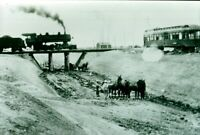 Vintage Train Photo -Old Steam Locomotive, Michigan Central, 1908  (Reprint) cc3