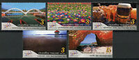Thailand 2018 MNH World Stamp Exhibition Bridges Flowers 5v Set Tourism Stamps