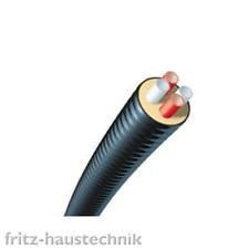 BRUGG Calpex Quadriga Fernleitung Fernwärme Rohr 2 x Heizung 2 x Sanitär Quatro