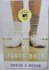 I JUST WANT MY PANTS BACK MTV TV SHOW AUTHOR SIGNED AUTOGRAPH BOOK