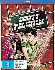 SCOTT PILGRIM VS THE WORLD BLU RAY - NEW & SEALED EDGAR WRIGHT FREE POST