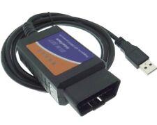 USB Can Bus OBD 2 Diagnostic Interface Error Software Device ELM-327 Auto Car