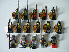 LEGO CASTLE / X 16 Minifigures Knights' Kingdom