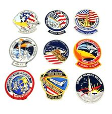 Nasa mission patches, 9 Mission Patches, Great Condition