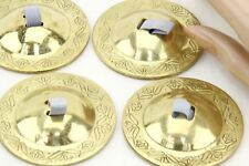 DELUXE Full Set ZILLS Finger Cymbals BellyDance (Gold)