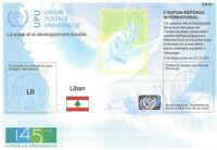 LEBANON - (IRC) INTERNATIONAL REPLY COUPON (145th YEAR) (MINT), MNH