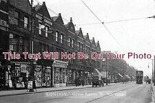 LO 202 - Green Lanes, London c1927 - 6x4 Photo