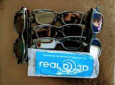 RealD Passive 3D glasses - Lot of 6