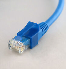 4ft BLUE molded CAT5e Ethernet patch cable Network with UNBREAKABLE TAB!
