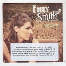 (FZ103) Emily Smith, King Orpheo - DJ CD