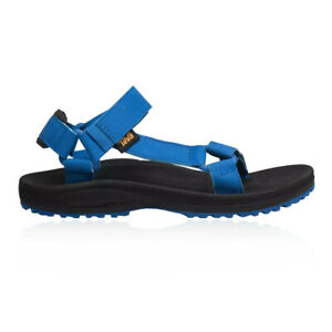 Teva Mens Winsted S Walking Sandal Blue Sports Outdoors Breathable Lightweight