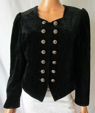 GIACCA JACKET VINTAGE TG.S/M Stimata in Velluto Colore Nero  Cod.S