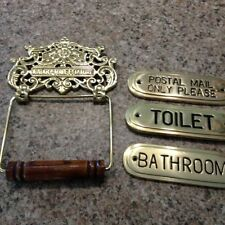 Antique Style Custom Made Decorative Plaques & Signs