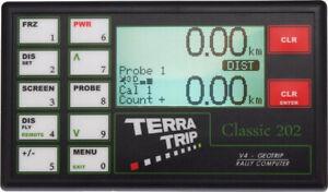 Terratrip 202 Classic Wegstreckenzähler, Rallye Computer Tripmaster Raceparts Cc