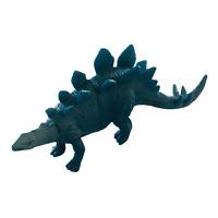 Jaru Stegosaurus Dinosaur Plastic Toy Figure Blue Collectible