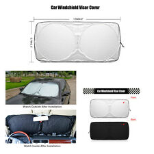 1Pcs Foldable Anti-UV Car Front Windshield Sunshades Sun Visors Cooling for SUV
