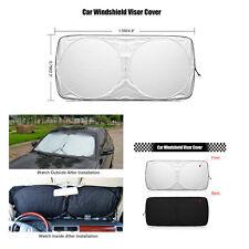 1Pcs Foldable Anti-UV Car Front Windshield Sunshades Sun Visors Cooling for SUV