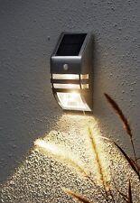 Solaire LED Lanterne Murale Lampe Applique Lumière De L'Escalier 544