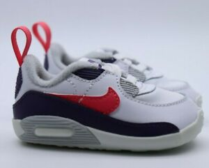 Nike Air Max 90 Babywiege Beistellbett Baby Bootie Sneaker-ci0424-100 Jungen Mädchen-uk2.5