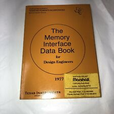 Vintage The Memory Interface Data Book For Design Engineers 1977 Pb P/O